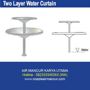 Two Layer Water Curtain