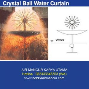 Crystal Ball Water Curtain