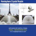 Hemisphere Crystal Nozzle
