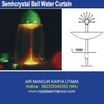 Semhcrystal Ball Water Curtain