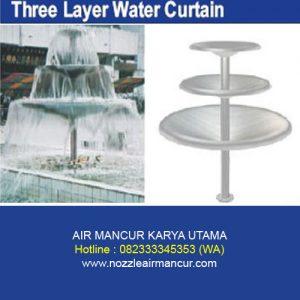 Three Layer Water Curtain